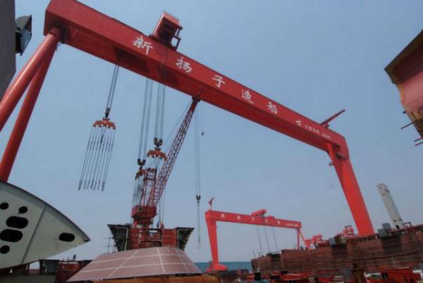 5.7亿美元造船订单!扬子江船业牛掰大了!