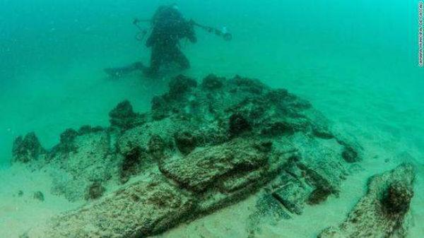 百年沉船在葡萄牙被发现 载有中国明朝瓷器