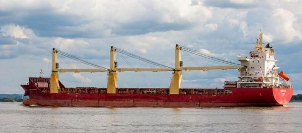 一天津出發雜貨船在黑德蘭港突發大火!